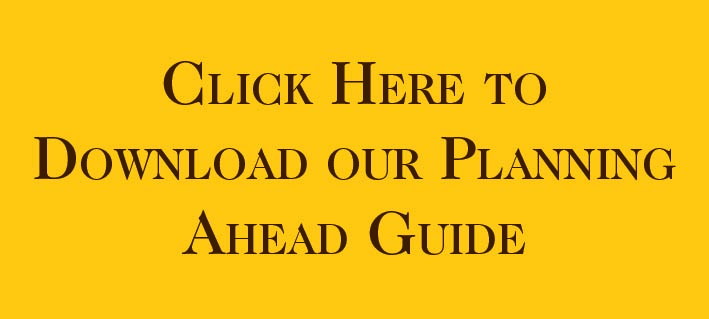 Planning Ahead Guide Button
