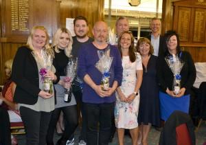 The winning team 'Green Square'