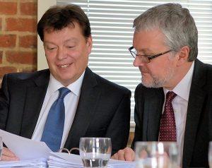 Steve Webb and Marcus Price