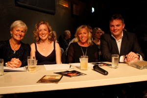 The Judges, TSP's Mary Anne Fedeyko (left), Felicity Simper, Boyden's Natalie Abrahams, Round Table's Matt Eaton.
