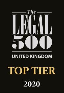 Legal 500 Top Tier
