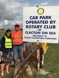 Clacton Rotary Charity Car Parking