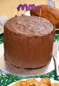 Macmillan bake off cake
