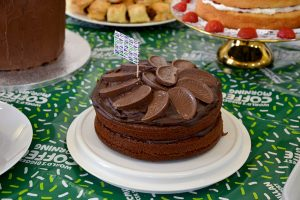 Macmillan coffee morning cake