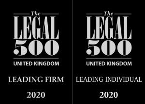Legal 500 2020 Logos