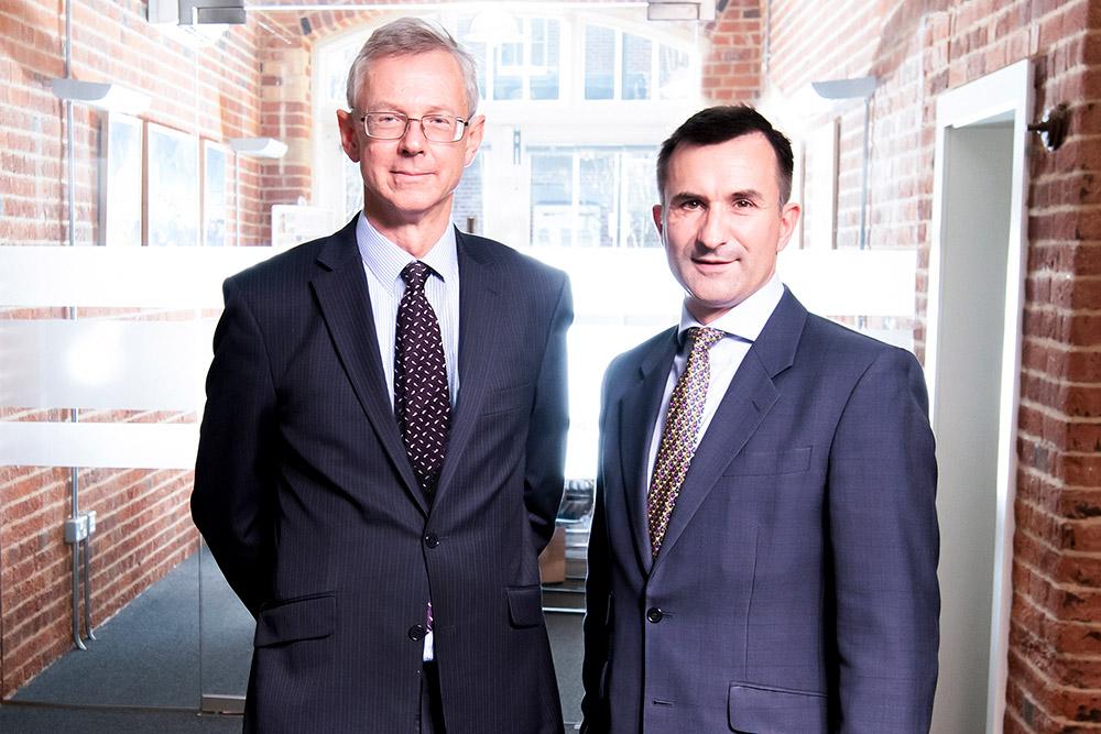 Employment Lawyers Richard Porter and Jolyon Berry