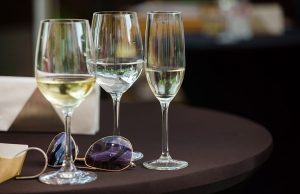 Wine Glasses at Party Employer Liability