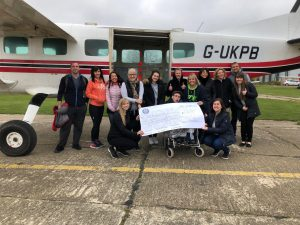 Skydive for Team Angus