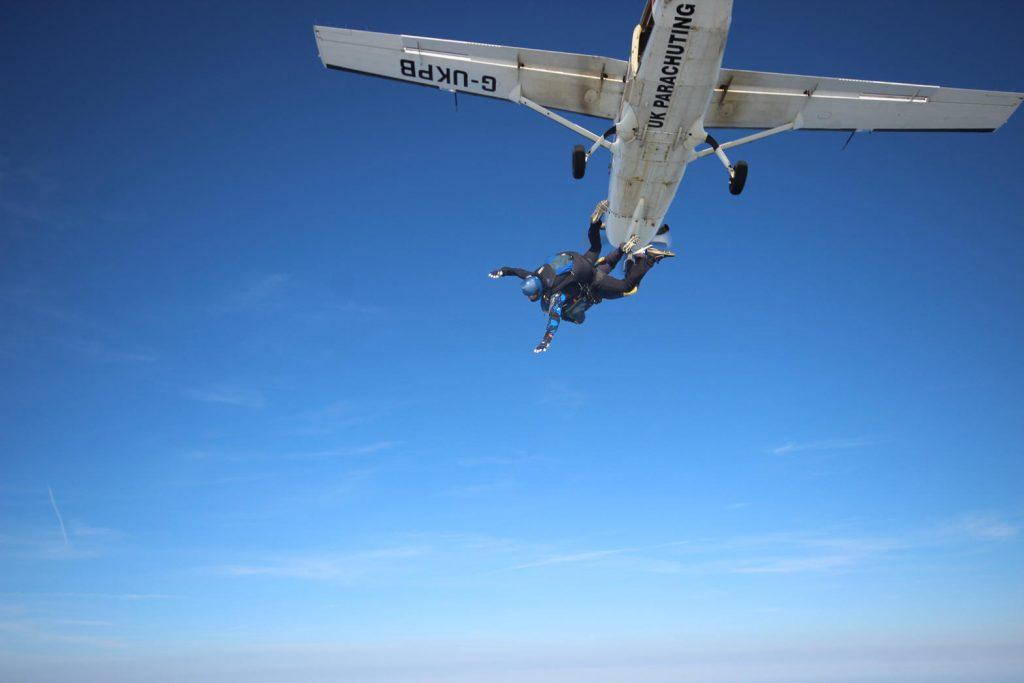 Nicola Crisell Skydive
