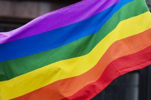 LGBT Rights at Work Pride Flag