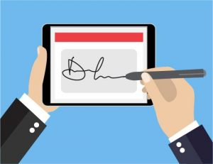 Electronic Signature