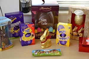 Easter egg raffle prizes