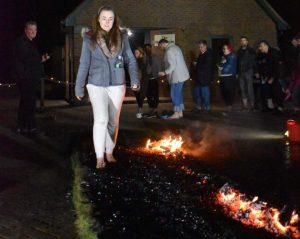 Rebecca Stone Fire Walk